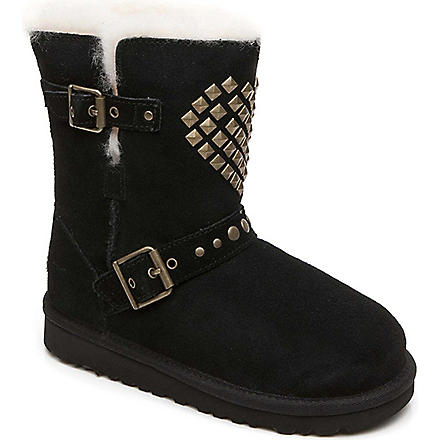 UGG Adrianna boots 3-8 years (Black