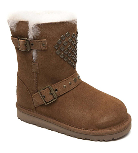 UGG Adrianna boots 3-8 years (Tan