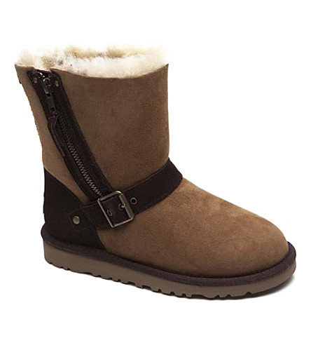 UGG Blaise sheepskin boots 7-11 years (Tan