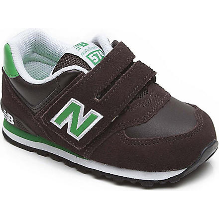 NEW BALANCE Velcro strap trainers 2-12 years (Brown