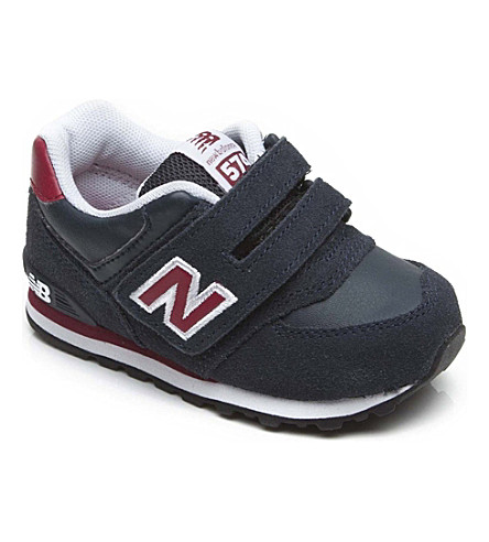 NEW BALANCE Velcro strap trainers 2-12 years (Red