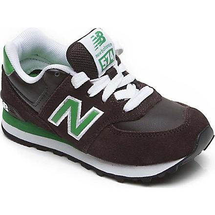 NEW BALANCE Lace-up trainers 9-12 years (Brown