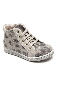 ROBERTO CAVALLI Leopard studded trainer 2-9 years