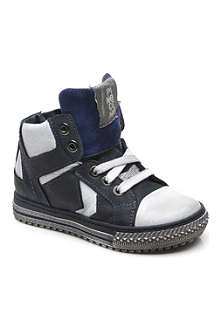 HIP SHOES Lace-up high-top trainers 6 months - 3 years
