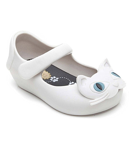 MINI MELISSA Cat jelly shoes 6 months-5 years (White