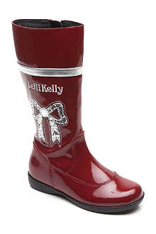 LELLI KELLY Lelbailey high-shine boots 4-9 years