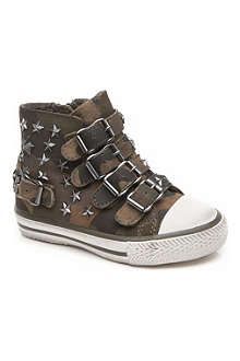 ASH Studded high-top trainers 3-9 years