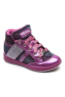 LELLI KELLY Metallic trainers 5-9 years