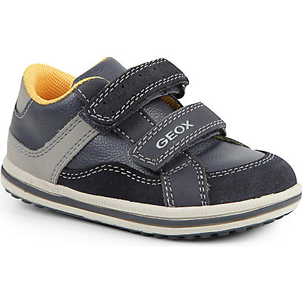 GEOX Double-strap trainers 2-6 years (Navy