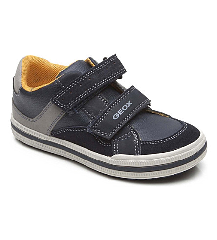 GEOX Two-strap trainers 6-11 years (Navy