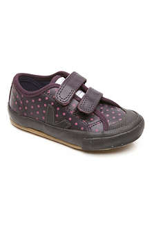VEJA Guris leather velcro trainers 3-9 years
