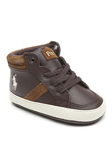 RALPH LAUREN Hi-top trainers 6-months - 3 years