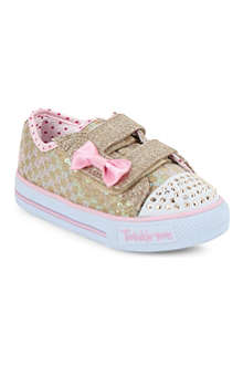 SKECHERS Twinkle toes trainers 3-5 years
