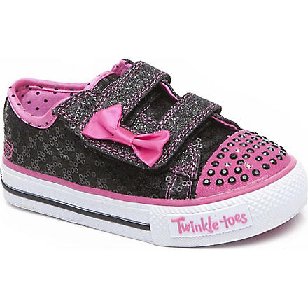 SKECHERS Skechers sequin trainers 3-5 years (Black