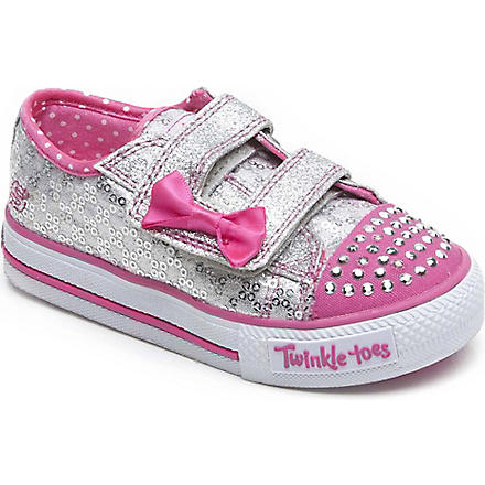 SKECHERS Skechers sequin trainers 3-5 years (Pink