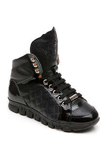 VERSACE Hi-top trainers