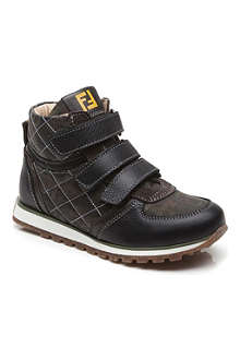 FENDI Hightop camo trainers 7-13 years