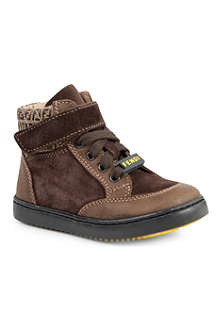 FENDI Suede high-top boots 2-10 years