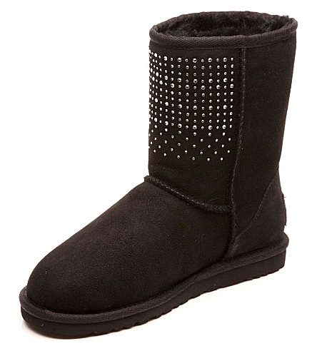 UGG Bling boots 6 months-12 years (Black