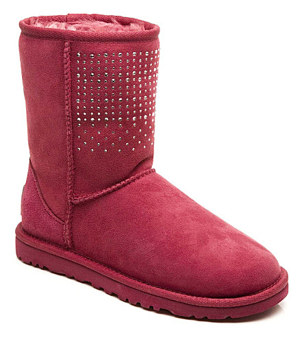 UGG Bling boots 6 months-12 years (Red