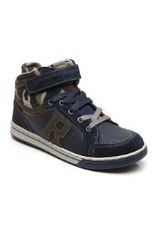 REPLAY Army-print trainers 6-12 years