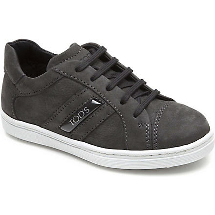 TODS Suede trainers 6-9 years (Grey