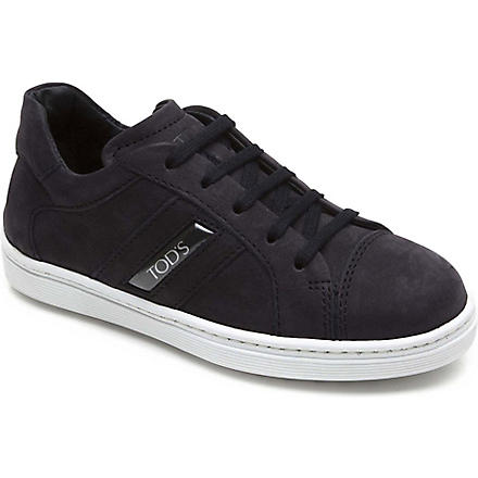 TODS Suede trainers 6-9 years (Navy