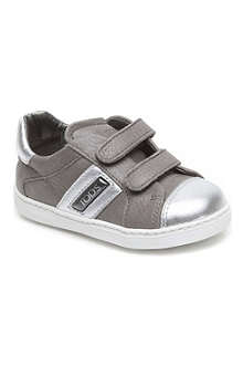 TODS Metallic leather trainers 2-5 years