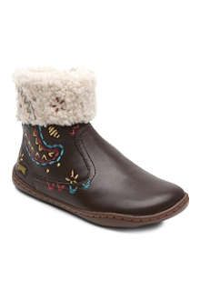CAMPER Emboidered ankle boots 5-9 years