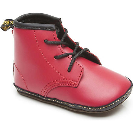 DR MARTENS Unisex booties 6-12 months (Red