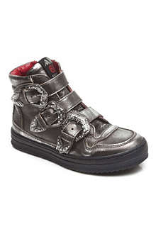 AM66 Unisex buckle boots 7-12 years