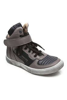 GF FERRE Branded high top trainers 7-12 years