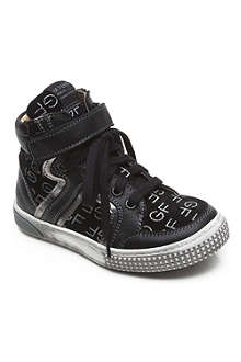 GF FERRE Logo high top trainers 2-12 years