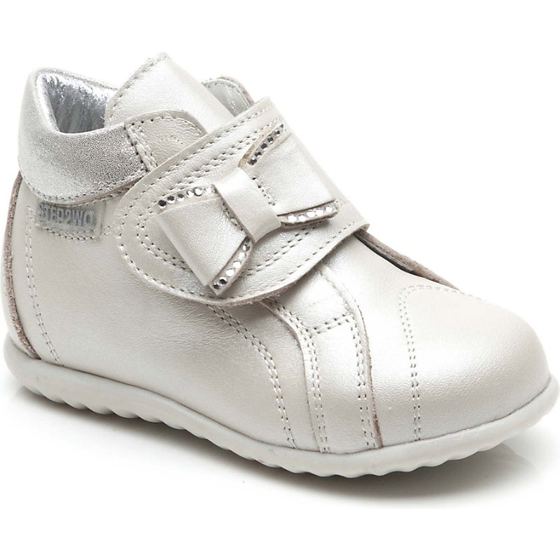 STEP2WO SHOES   STEP2WO Stint Leather Boots 6 Months-2 Years, Size: EUR 19 / 3 UK, Beige Leather   Goxip