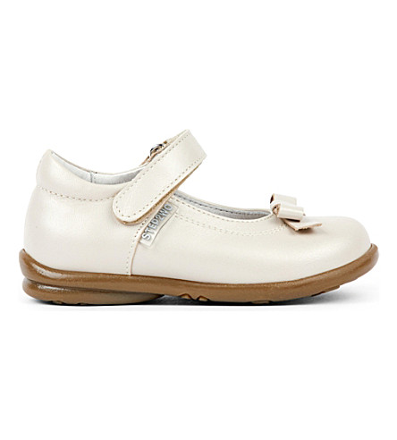 STEP2WO Rose leather shoes 1-4 years (Beige+leather