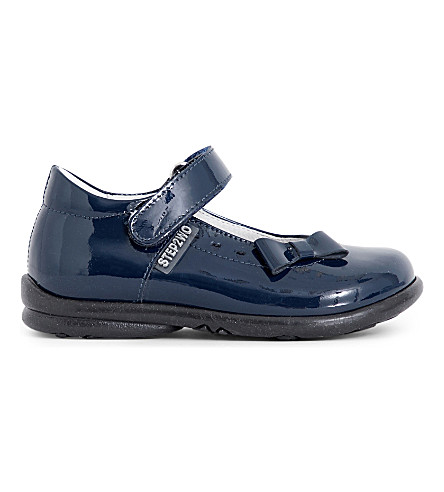 STEP2WO Ethel shoes 6 months - 4 years (Navy+patent