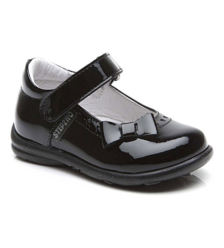STEP2WO Step 2wo Ethel shoes 6 months-4 years (Black+patent