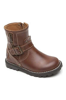 STEP2WO Boys leather boots 3-4 years