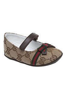 GUCCI Ballerina shoes 6-9 months