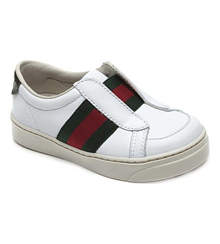 GUCCI Leather trainers 18 months-3 years (White