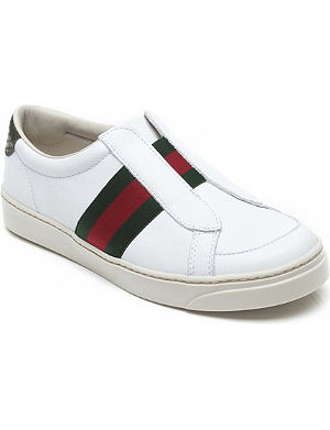 GUCCI Leather trainers 4-9 years