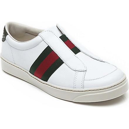 GUCCI Leather trainers 4-9 years (White