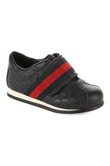 GUCCI Embossed leather trainers 1-8 years
