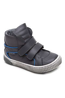 STEP2WO Leather hi-top Velcro trainers 2-4 years