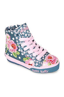 LELLI KELLY Bead-embellished high top trainers 3-5 years