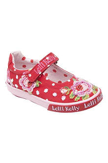 LELLI KELLY Embellished canvas pumps 9 months-10 years