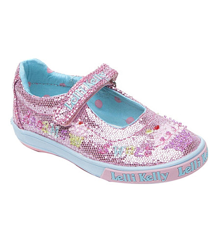 LELLI KELLY Glitter pumps 9 months-11 years (Pink