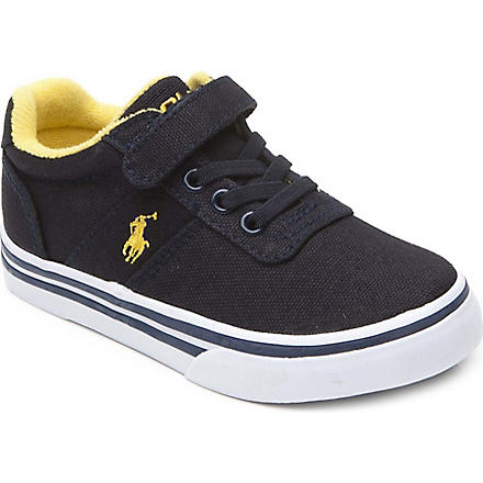 RALPH LAUREN Hanford EZ trainers 2-10 years (Navy