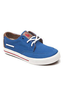 RALPH LAUREN Vance canvas trainers 8-16 years