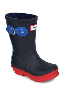 HUNTER Unisex original contrast wellington boots 3-9 years